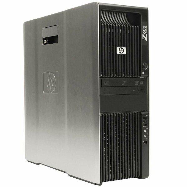 HP Z600 Workstation - 2x Xeon E5504 @2,00GHz/16GB/2x300GB/DVDRW/NVIDIA QUADRO