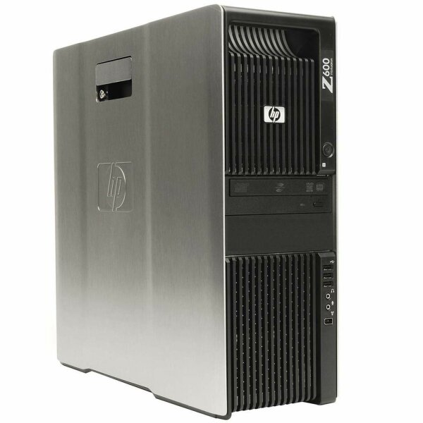 HP Z600 Workstation - 2x Xeon E5504 @2,00GHz/4GB/2x300GB/DVDRW/NVIDIA QUADRO FX580