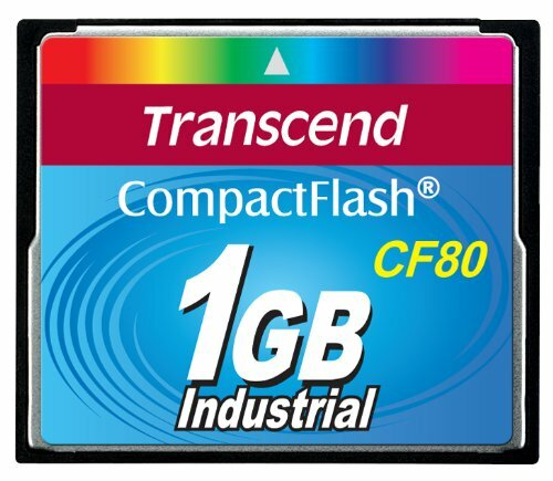 Transcend 80x 1GB Compact Flash Speicherkarte