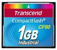 Transcend 80x 1GB Compact Flash Speicherkarte