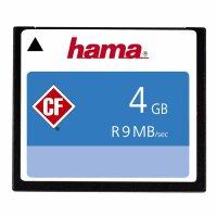 Hama HighSpeed CompactFlash(TM) Speicherkarte 9MB/s 4GB