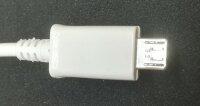 Micro-USB 2.0 Kabel, USB-A Stecker an Micro-B Stecker. 1m