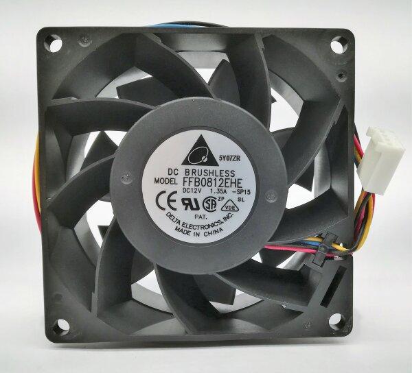 Delta Electronics FFB0812EHE 80mm Lüfter Fan 4-pol FRU#: 26K6085