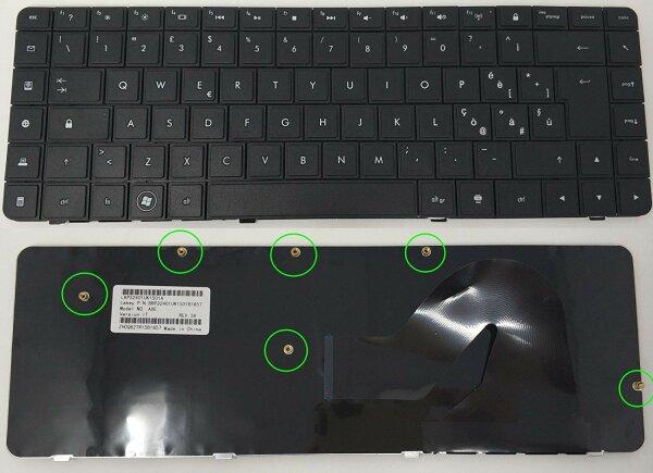 Tastatur Keyboard für HP 605922 – 061 Layout Italienisch