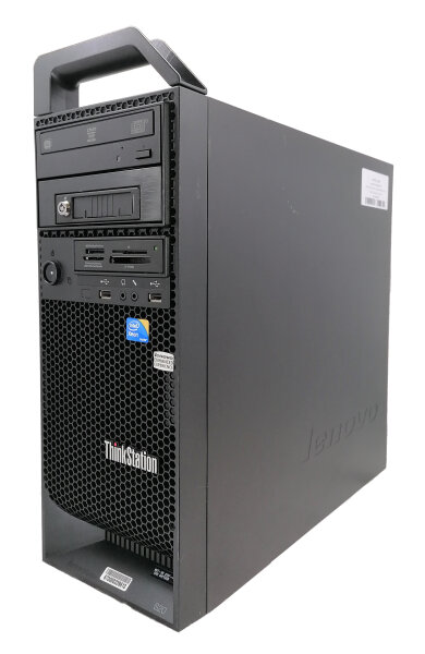 Lenovo Thinkstation S20 - Xeon W3550 @3,06GHz, 8GB DDR3, 500GB, DVDRW, WIn10