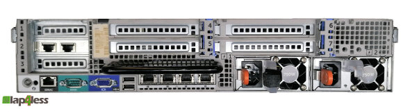 DELL PowerEdge R720 - 2x Xeon E5-2640 @2,50GHz, 80GB DDR3