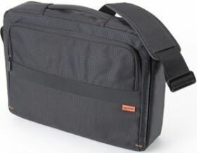 """Dicota CasualStyle Umhänge- Notebooktasche 13"""" - 14,1"""" schwarz N28118P - NEU -"""