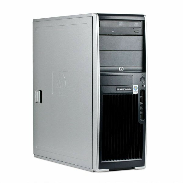 HP xw6600 Workstation - 2x Xeon E5410 8GB 160GB DVDRW