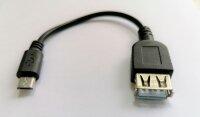 OTG Kabel USB 2.0 auf Micro USB OTG Adapter