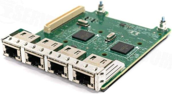 Broadcom Dell PowerEdge 0FM487 1GbE 5720 Quad Port PCI-e BASE-T Network Daughter Card