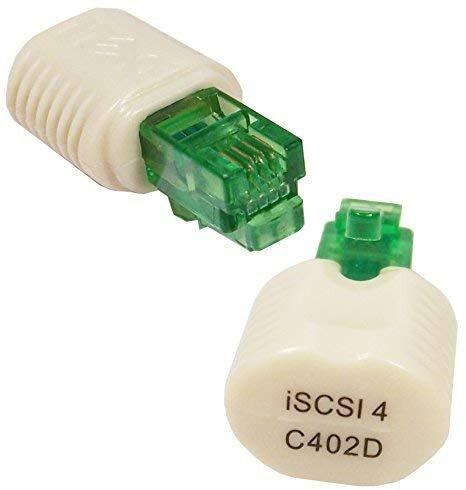 Dell iSCSI 4-Port ESG Toe Key Adapter Bulk C402D Backplane interne NIC Karte