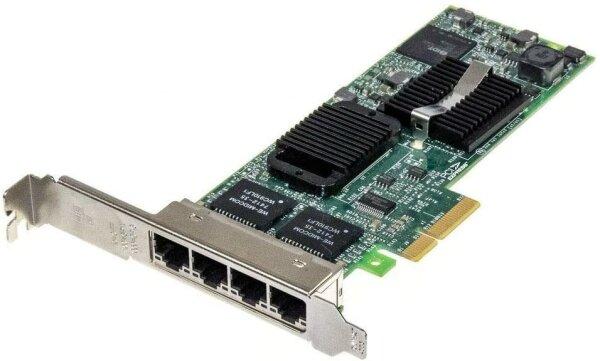 Dell YT674 0YT674 D61627-003 D96950-006 Intel 1000 Pro PCI-E Quad Gigabit Network Card
