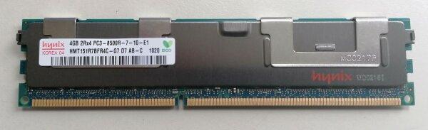 Hynix 4GB Serverspeicher Arbeitsspeicher HMT151R7BFR4C-G7 D7 AA 2Rx4 PC3-8500R-7-10-E1 ECC