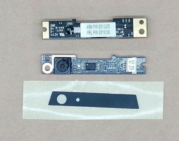 Lenovo Webcam FRU 63Y0006 Kamera-Modul Webcam für Lenovo / IBM ThinkPad T510 T510i W510 T410 T410i 63Y0005